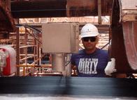 Pomiar poziomu wilgotności soli w procesie produkcyjnym.