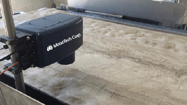 Szybka kontrola procesu suszenia iwysokiej jakości piasek.